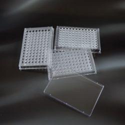 96-kuoppalevy, V-pohja, ei-steriili, yksittäispakattu
