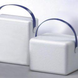 Kuljetuslaukku, valkea EPS, 3,8 l